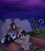 KH: Beneath A Blaze of Stars by shadkat