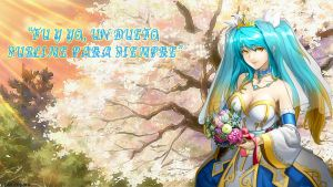 Sona wallpaper by reyard