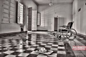 The wheelchair by DarkMPhotography