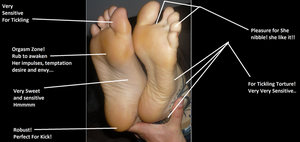 reflexology Soles of MissL by poulop666