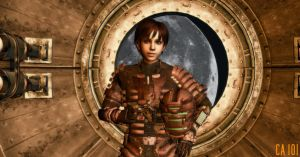 Rebecca Chambers In Dead Space by ChrisAstro101