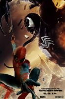 The Spectacular Spider-Man alternate movie poster by DComp