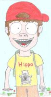 Hippo Kid by Puglord
