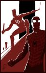Spider-Man Daredevil Teamup by deralbi