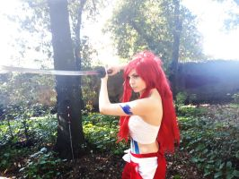 Erza Scarlet cosplay by Yuno-Dragneel