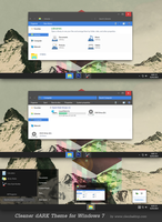 Cleaner dARK Theme for Windows 7 by Cleodesktop