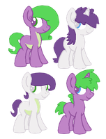 .:Spike x Rarity:. [open] by redroseadopts