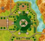 Zeldanime - North Castle map by OniChild