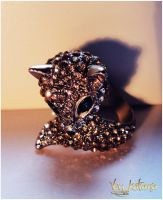 My adorable Fox-ring by stacyshevardi