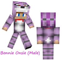 Bonnie Male Onsie by CYB3RC0W