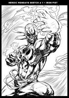 Iron Fist by caananwhite
