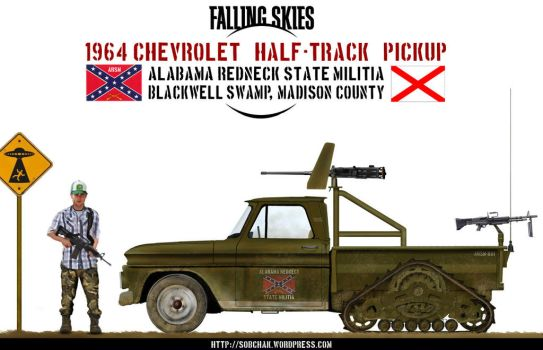 1964 Chevrolet Half-Track Pickup by db120