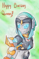Happy Birthday Quinny by Sidian07