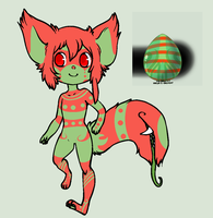 Third Tailmouth Hatchable hatched! by AutomatonCreatives