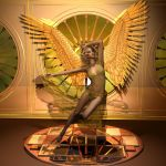 golden angel by whitewillow2010