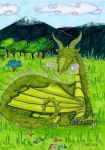 Common Welsh Green by Agatha-Macpie