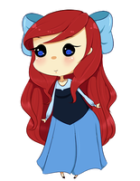 Free Ariel Pagedoll by Sarrie-Chan