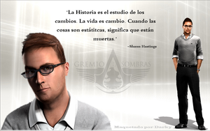 Assassin's Creed II - Shaun Hastings Quote by josetemg