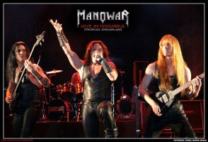 Manowar live in Istanbul by curan