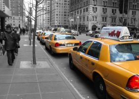 NYC Taxi by SoberMonkey