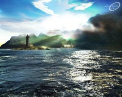 Terragen - The Arrival by tigaer