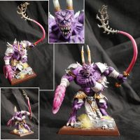 Daemon Prince of Slaanesh by Taelonar