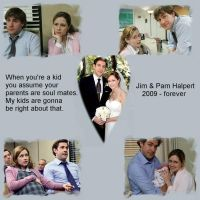Jim and Pam Forever by lauramalmal