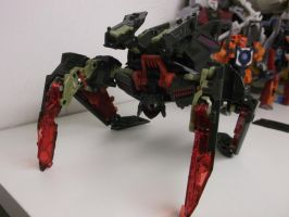 NEW TRANSFORMER CUSTOM-MINDWIPE SPIDER MODE! by forever-at-peace