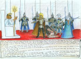 The Execution of King Lysander by seawaterwitch