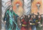 Thingol and dwarves by AnotherStranger-Me