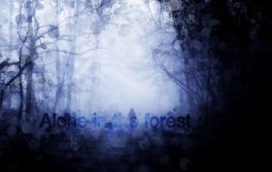 Alone in the forest by Vladisakov