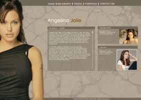 Angelina-Jolie by mycreativework