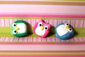 Cutie Owl Charms by AppleGummies