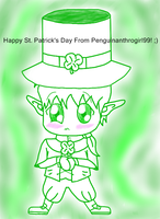 Happy St. Patrick's Day! by Penguinanthrogirl99