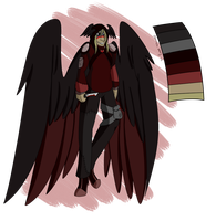 Sanguine, my Brother (Design Trade) by CannibalHarpy