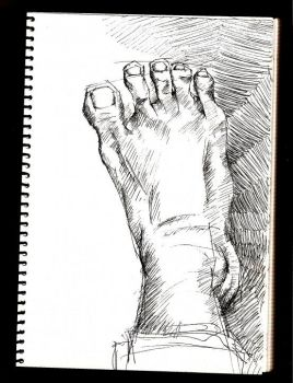 a foot by catcatmycat