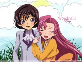 Lelouch and Euphemia by Kaki-Maxwell