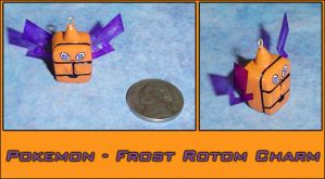 Pokemon - Frost Rotom Charm by YellerCrakka