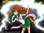 Sailor Jupiter - Soldier of Thunder by Niko-Gami