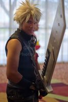 Cloud Strife by Dinnerfortwo