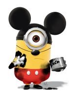 Mickey Minion by danps