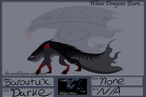 Ref Sheet for Baroutux by Phoeberia
