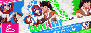 Capa #4 - Gajeel and Levy (Fairy Tail) by StealphArtz