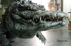 The Legendary Crocodile WIP by FUVL