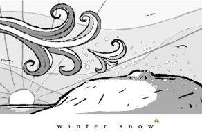 winter snow by theblastedfrench