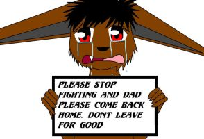 Please come home daddy by Kyuubichowderfan