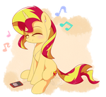 Sunset Pone by HankOfficer