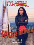Spider-Woman Poster #2 by nottonyharrison
