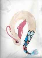 Milotic that I never finished by ZeroPhantomhive