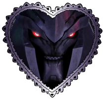 Large Megatron Heart Stamp 4 by TheDarkLadyMegaria